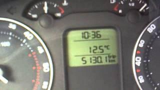 Skoda Octavia A5 1.9tdi реальный расход топлива 4л на 100км