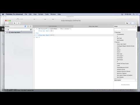 Simple FileMaker Modularity