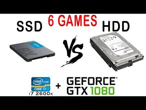 SSD Vs HDD в 6 Играх. Тест скорости загрузки и частоты кадров