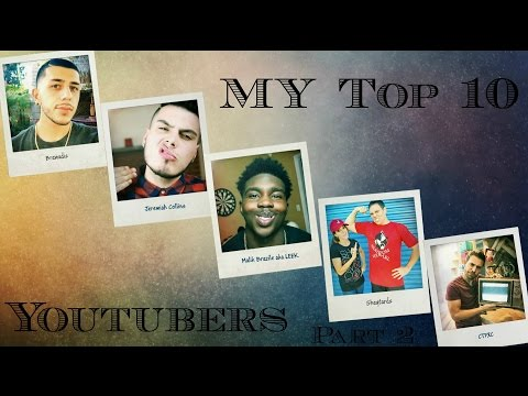 Top 10 YouTubers I watched Part 2 - Huskyey