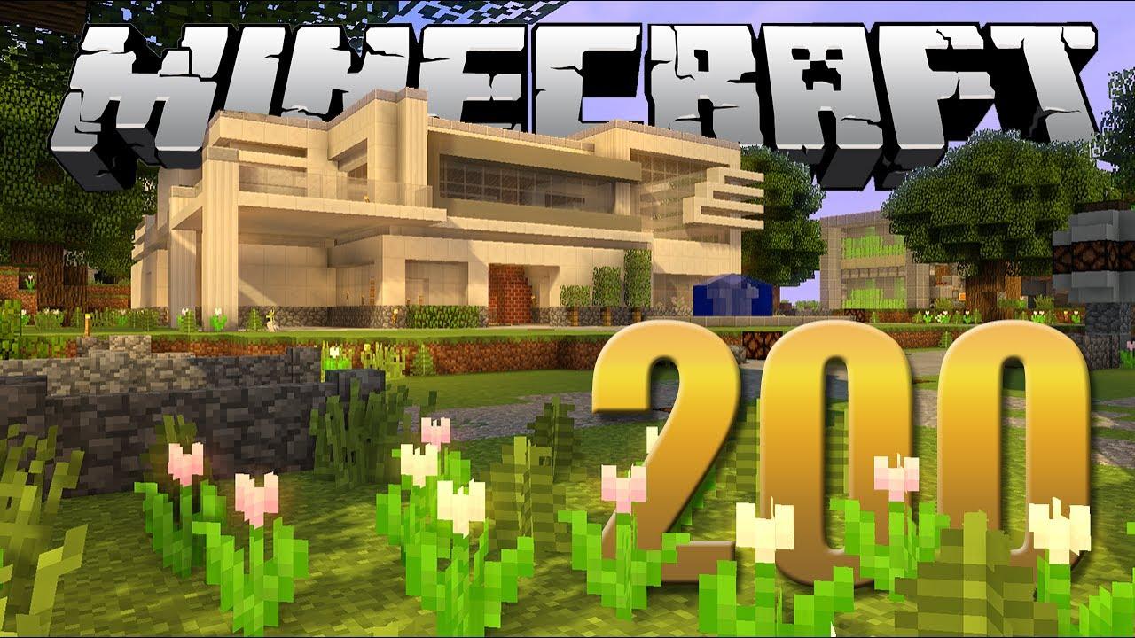 Um Novo Mundo Minecraft Em Busca Da Casa Autom Tica