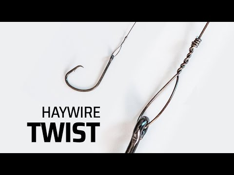 How To Rig Wire Leader - The EASIEST Haywire Twist Tutorial REELREPORTS