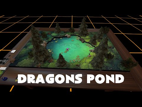 Tabletop Simulator Battlemap - Dragons Pond. |