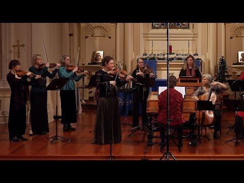 Vivaldi: Winter (the Four Seasons), Largo; Cynthia Freivogel & Voices of Music RV 297 4K UHD