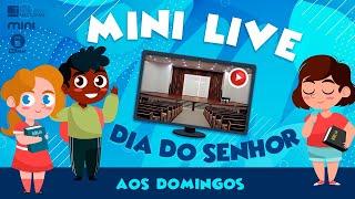 MINI LIVE DIA DO SENHOR - Conhecendo Jesus: A divindade de Jesus - 29/08/2021