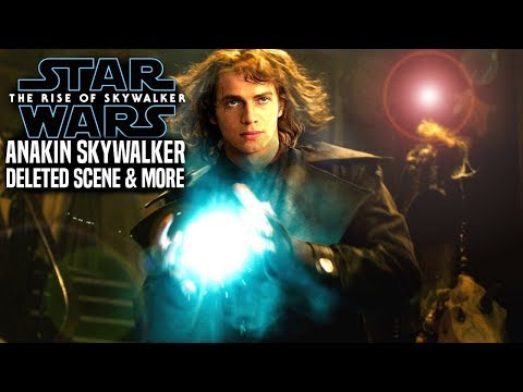 The Rise Of Skywalker Deleted Anakin Scene Explained! Get READY! (Star Wars Episode 9)