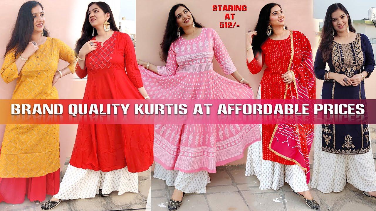 Snapdeal Budget friendly Festive wear kurti haul