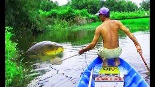 РЫБАК НАКАЗАЛ СОМОВ ЭЛЕКТРОУДОЧКОЙ! ХИТРЫЙ МЕТОД ЛОВЛИ ! Вот это рыбалка 2018 ты не поверишь