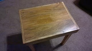 My Next Project: End Table Part Ii