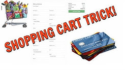 HOW TO GET A CREDIT CARD WITH BAD CREDIT - INSTANT APPROVAL (SHOPPING CART TRICK)