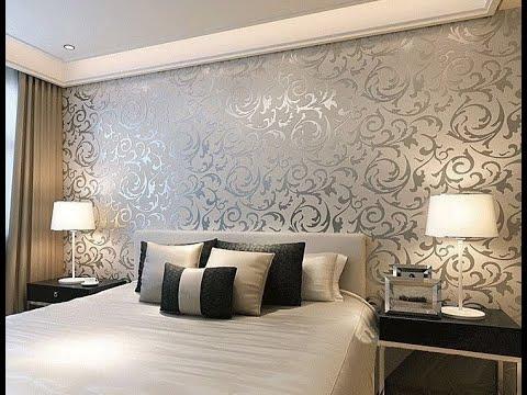 Wallpaper For Bedroom Walls Designs Home Desgins Pakistan Youtube,Simple Cotton Saree Blouse Neck Designs Images