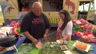 King's Oh So Sweet Hawaiian Recipes - Shrimp Roll
