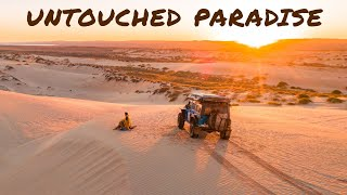 NINGALOO COAST IS AMAZING - 4x4 Epic Beach Camps & Spearing Surrounded by Sharks & Turtles | Ep 29 |
