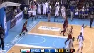 PBA Bastusan dunk against ARWIND  SANTOS!!