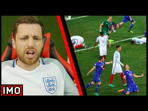 ENGLAND ARE A DISGRACE! KNOCKED OUT BY ICELAND! (EURO 2016) - IMO #24