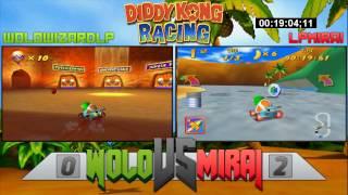 Wolo vs Mirai - Part 3- Diddy Kong Racing