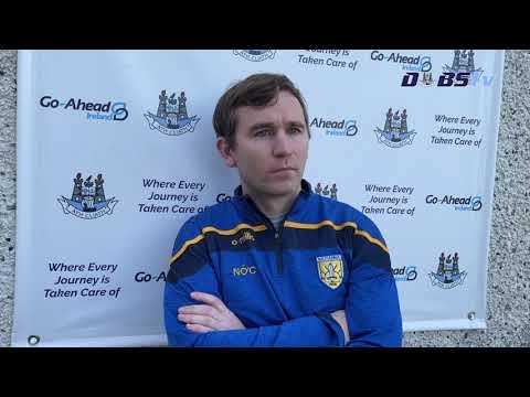 Na Fianna manager Niall Ó Ceallacháin chats to DubsTV following win over Craobh Chiaráin