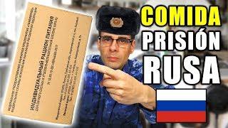 PROBANDO COMIDA DE GUARDIAS DE PRISIÓN RUSA