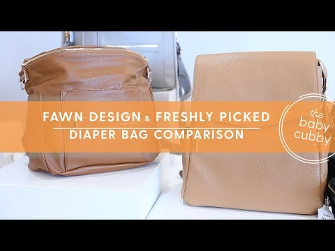 Fawn Design & Freshly Picked Comparison | Top Trending Diaper Bags