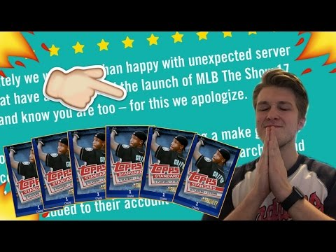 COMPENSATION TIME! SAN DIEGO STUDIOS APOLOGIZES AND WE GET FREE STUFF! MLB THE SHOW 17