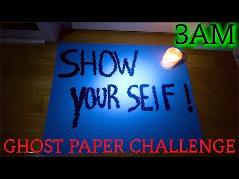 (The Finale) THE SCARIEST GHOST PAPER CHALLENGE AT 3AM YET! (Demon Finally Shows itself!)