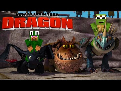 Thumbnail: Minecraft - HOW TO TRAIN YOUR DRAGON 2 - [4] 'Wild Dragons'