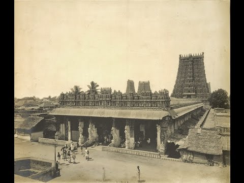 Rare Old Photos Of Meenakshi Amman Temple Madurai Tamil Nadu India Year 1858
