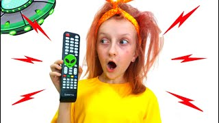 Funny story about a magic remote with Tawaki Kids\Pretend play