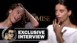 Charlotte Le Bon & Angela Sarafyan Exclusive Interview for THE PROMISE (JoBlo.com) 2017