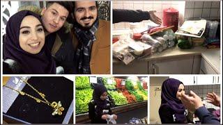 VLOG | ŞOK SÜRPRİZ - KARDEŞİM GELDİ - ALMANYA'DAN GELENLER - MARKET ALIŞVERİŞİ | #herşeyaşkla