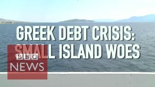 Greece debt crisis: How is the cap affecting the islands? BBC News