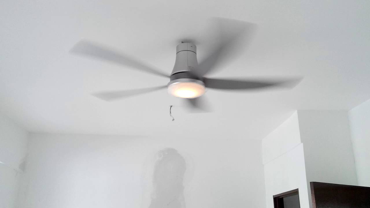 Panasonic Ceiling Fan F-M15GW - YouTube