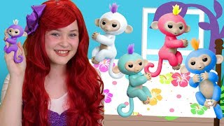 5 Little Fingerlings Jumping On The Bed | WigglePop