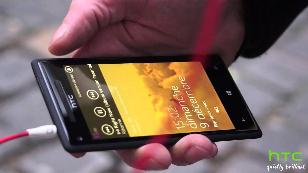 Htc windows phone 8x le est pictures - Windows Phone 8x Par Htc Pr Sentation