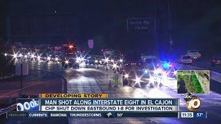 driver hurt in in i 8 freeway shooting in el cajon