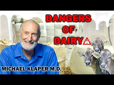 SCARY TRUTH ABOUT DAIRY | MICHAEL KLAPER M.D.