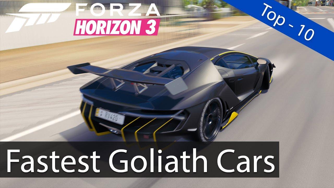 Fastest Cars Around The Goliath