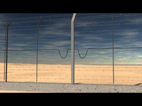 DTR smart security fence by Magal Secuirty Systems