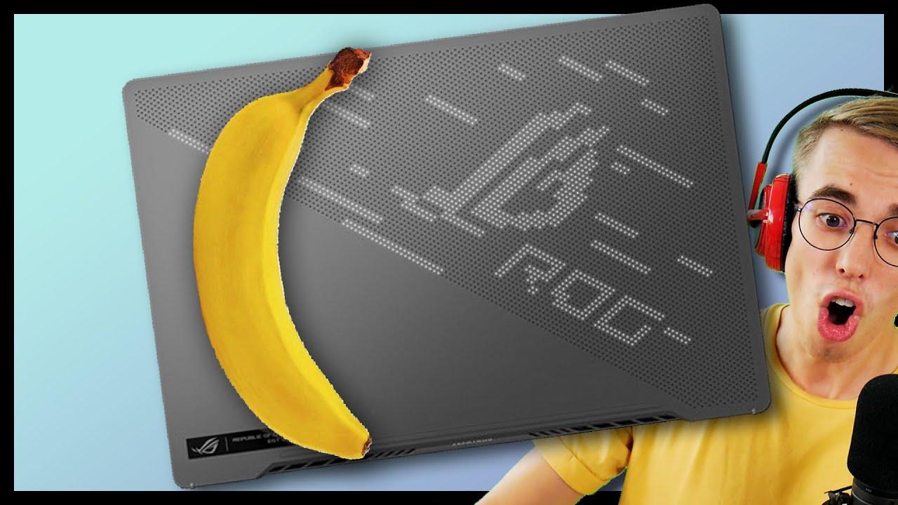 Animuotas Banano Ilgio Žaidimų Laptopas? 😮