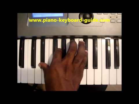 How To Play Eb7 Chord E Flat Dominant Seventh Eb 7 On Piano