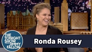 Ronda Rousey Addresses Her Floyd Mayweathe