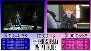 Final Fantasy Relay Race IV: Interlude! ~ Game 4: World of Final Fantasy