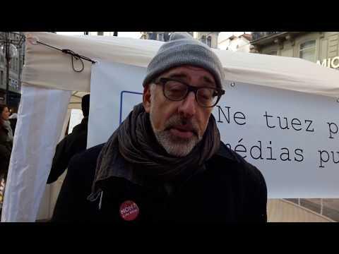 Doron Allalouf RTS syndicat suisse des médias