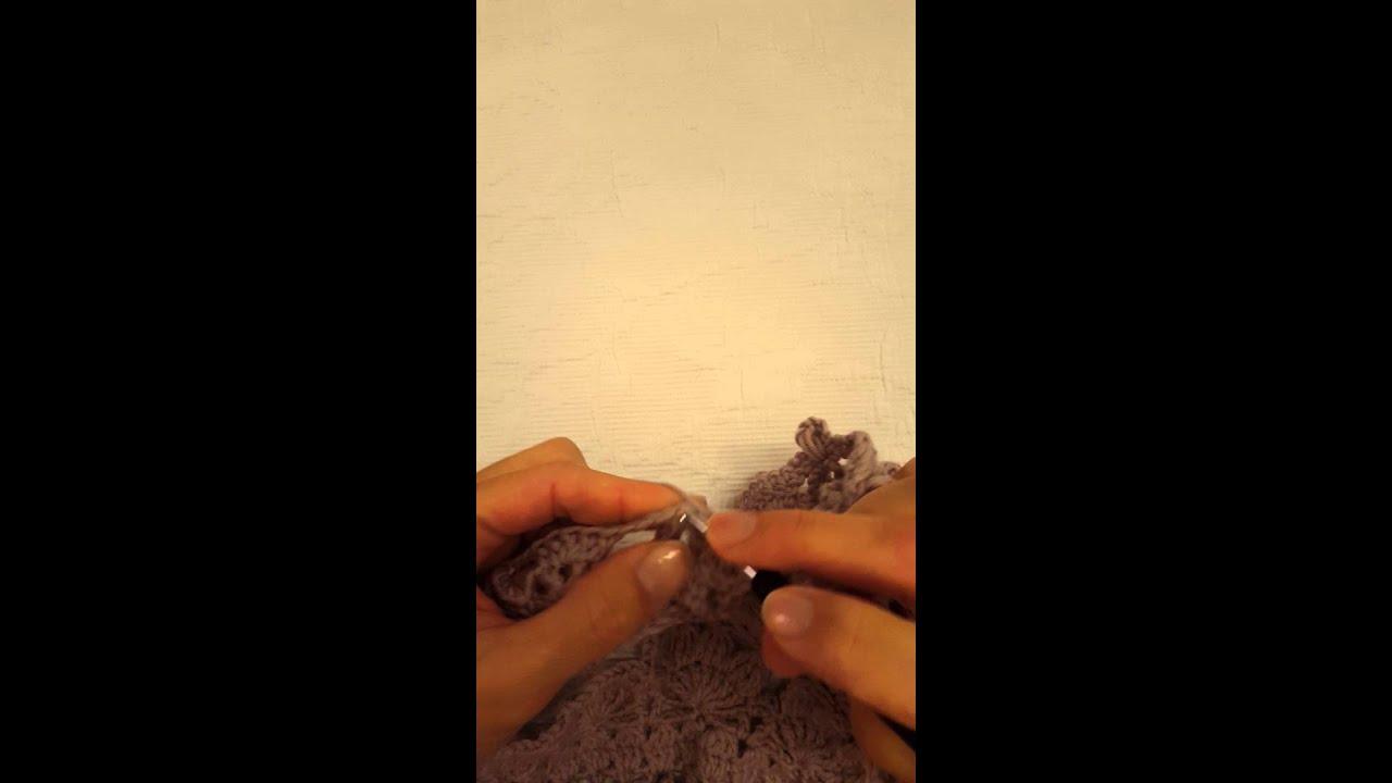 Popcornstich Kreisweste Crochetalong Teil 5 Youtube