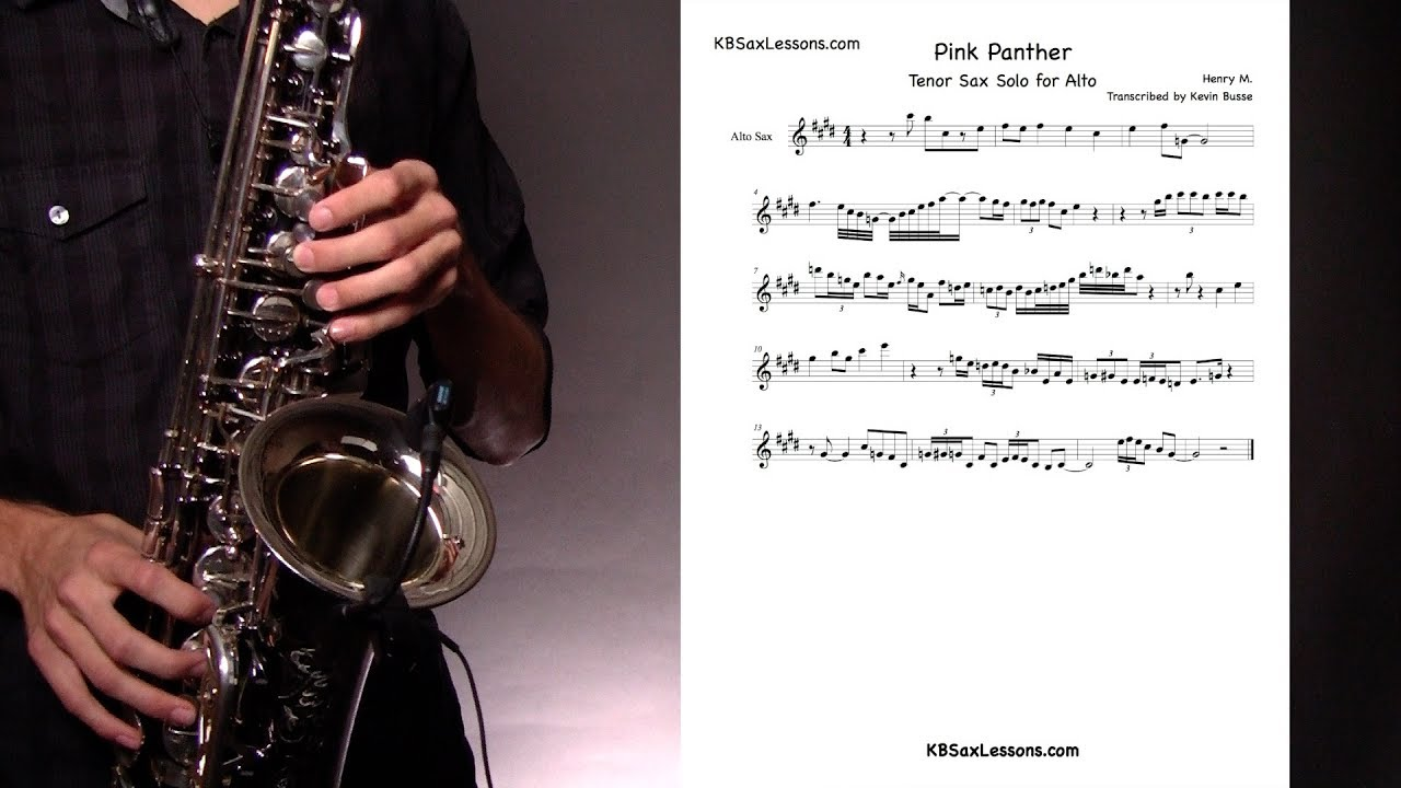 How to Play The Play Pink Panther Solo