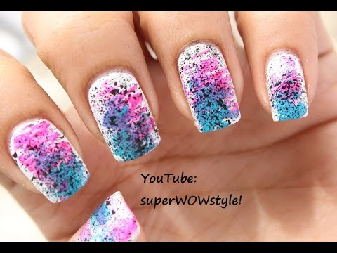 NO DRAWING  Very Easy Nail Art  BEGINNERS  Very Easy Nail Designs Tutorial  YouTube