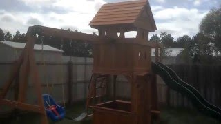 Sams Club Monterey Playground Swing Set Review