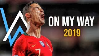Download lagu Cristiano Ronaldo 2019  ● Alan Walker - On My Way | Skills & Goals | HD