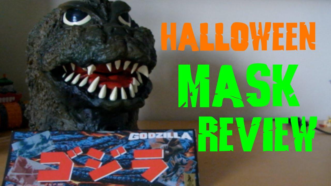 Godzilla Rubber Mask Ogawa Studios Review Youtube