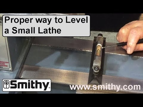 How & Why – Leveling a Small Lathe – Shown on Granite 3-in-1 Machine Tool ✓